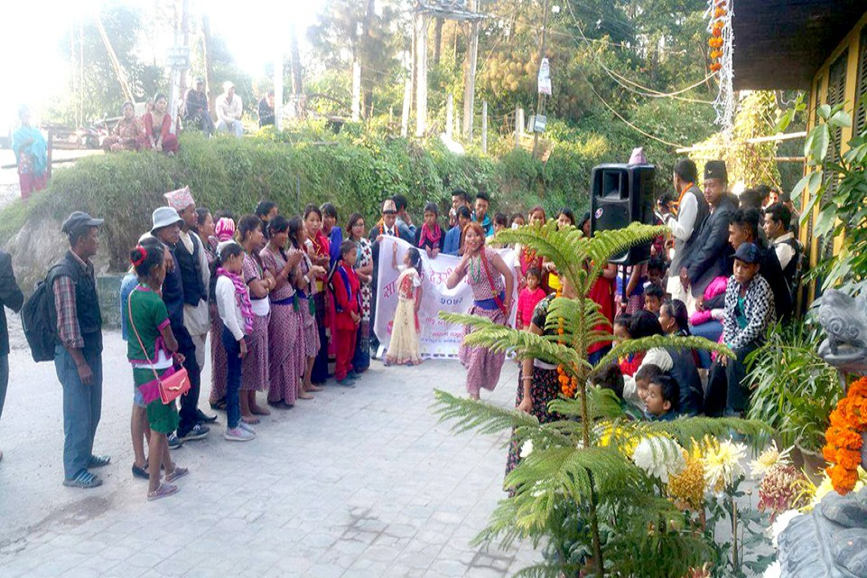Happy Tihar Deusi Bhailo at Hotel country villa Nagarkot