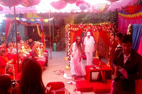 Real Australian Wedding at Hotel Country Villa Nagarkot