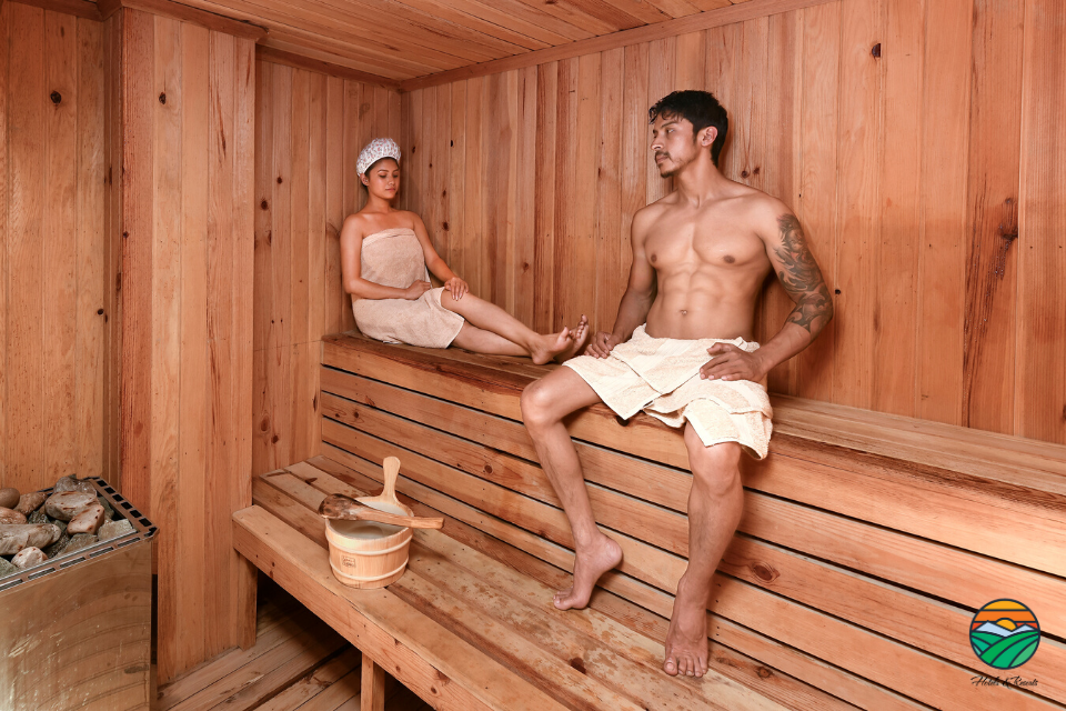 Dry Sauna - part of a Spa Boutique